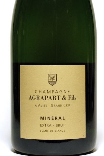 Agrapart 2010 Champagne Extra Brut  Blanc de Blancs Mineral