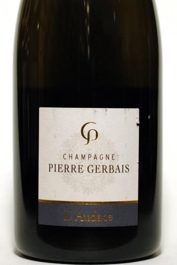 Gerbais, Pierre NV base 12 Brut Nature L'Audace Base 2012 (No SO2)