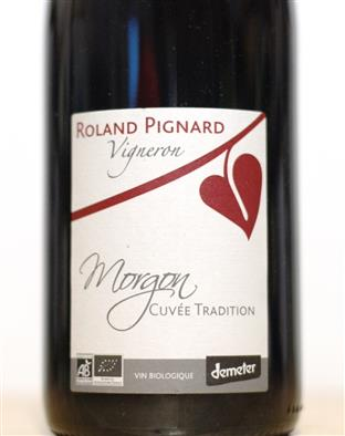 Pignard 2016 Morgon  Cuvee Tradition