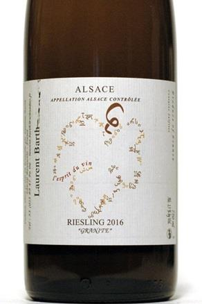 Barth 2016 Alsace Riesling Granite
