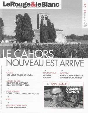 LeRouge&leBlanc # 124 Quarterly Magazine Gonon; Cahors; Dunn