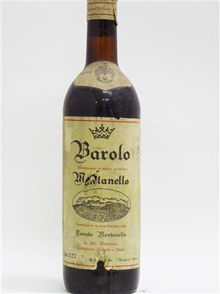 Montanello (Veronelli Collection) 1974 Barolo