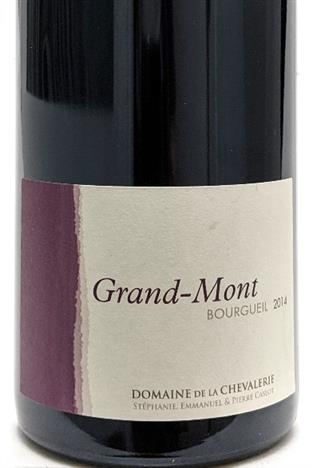 Chevalerie 2014 Bourgueil Grand Mont